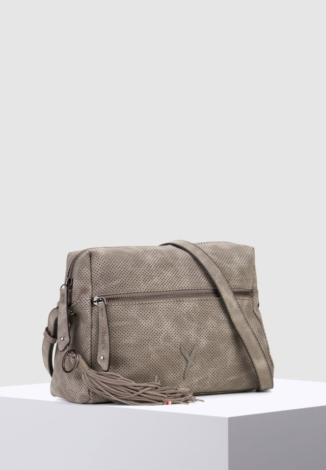 ROMY BASIC - Across body bag - dark grey