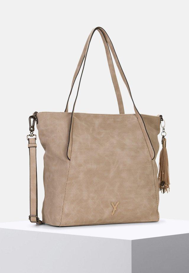 ROMY BASIC - Shopping Bag - sand