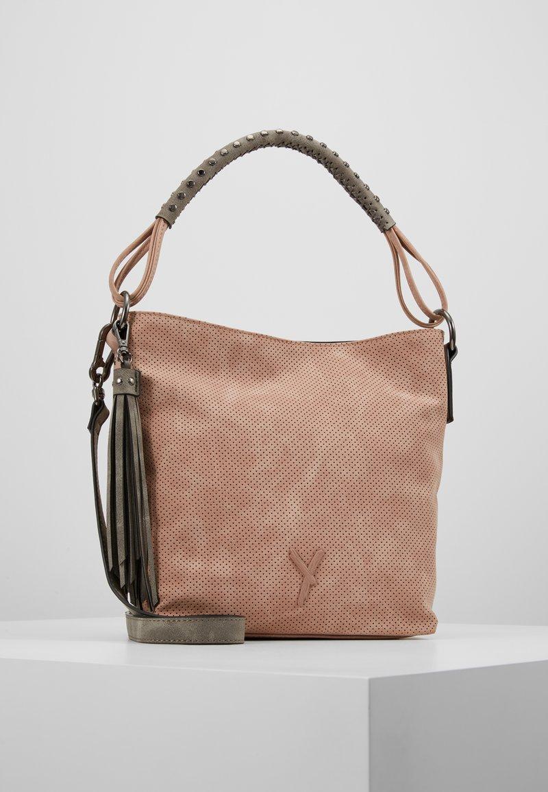 SURI FREY - ROMY - Handbag - rose/grey