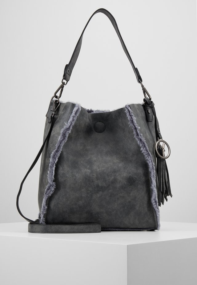 NESSY - Käsilaukku - darkgrey