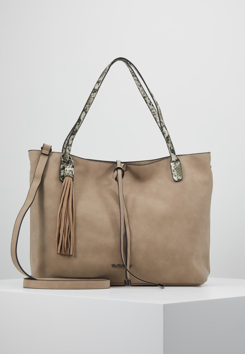 SURI FREY - CLAUDY - Shopping Bag - sand