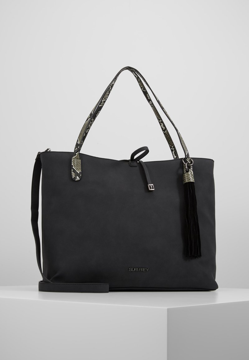 SURI FREY - CLAUDY - Shopping bag - black