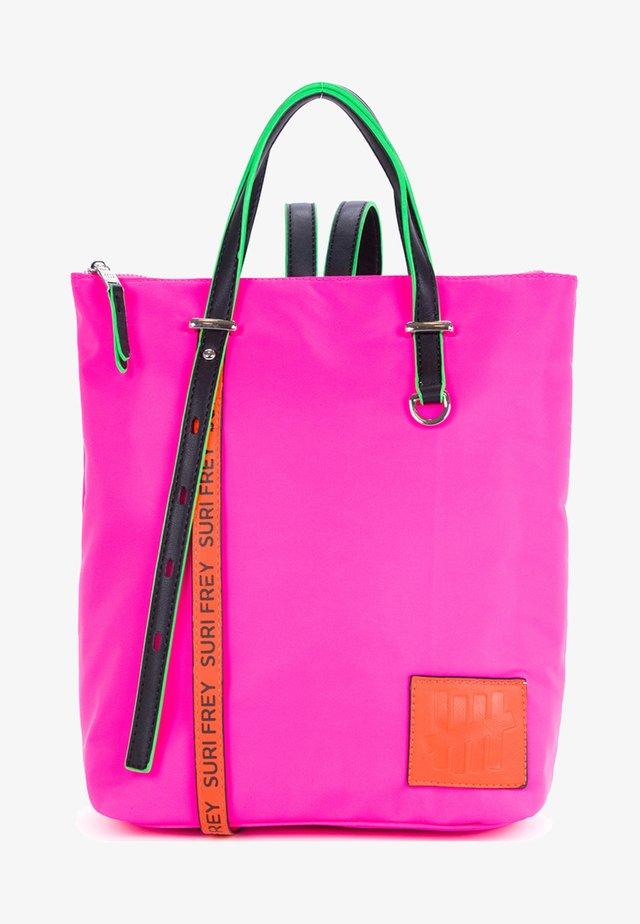 FIVE CITY - Mochila - pink/orange