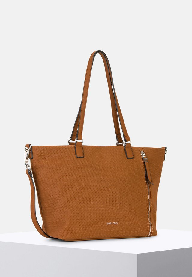 ROMY HETTY - Shopping Bag - cognac