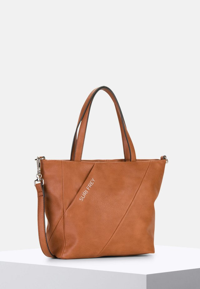 MIMMY - Shopping Bag - cognac