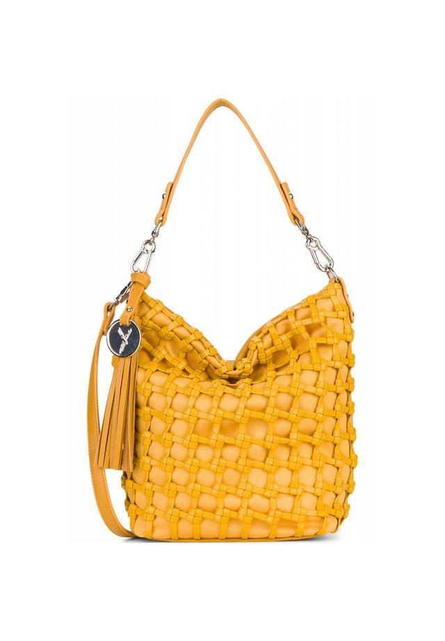CALLY SCHULTERTASCHE 22 CM - Handbag - yellow