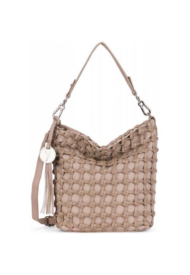 CALLY SCHULTERTASCHE 22 CM - Handbag - taupe