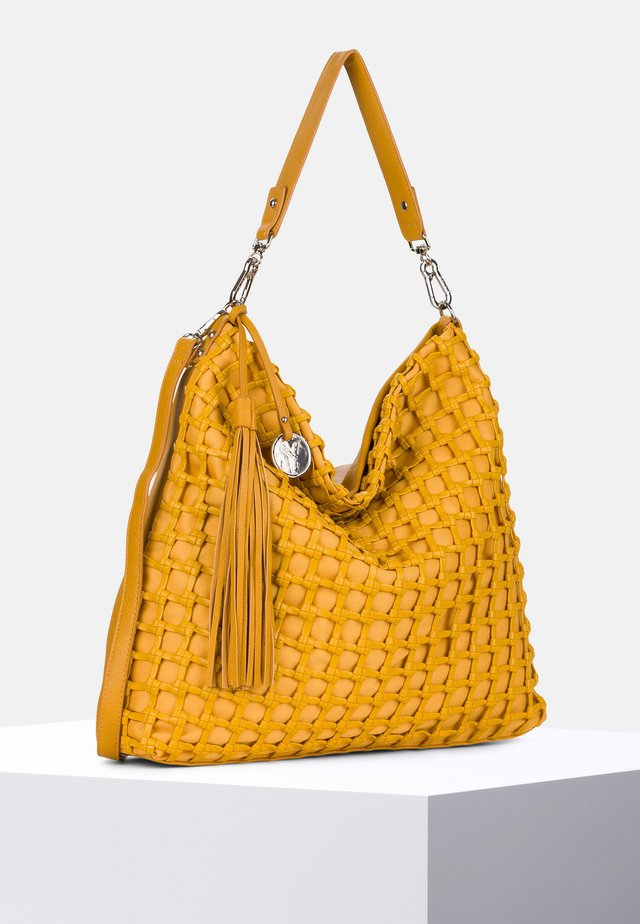 CALLY - Tote bag - yellow 460