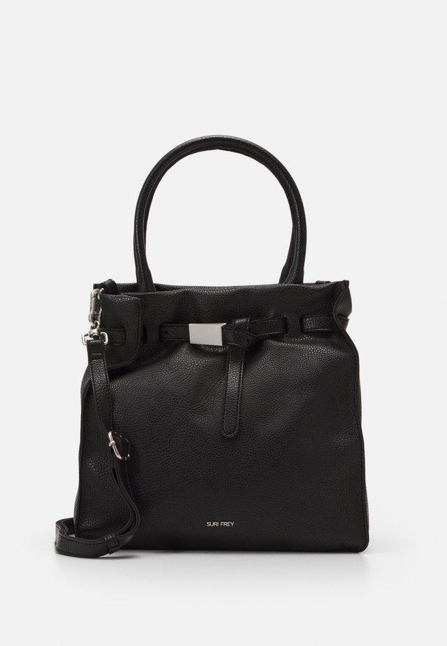 SINDY - Handväska - black
