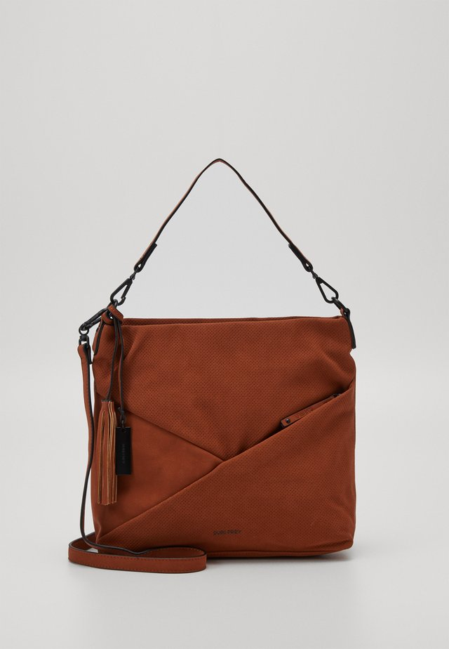 ROMY - Across body bag - cognac