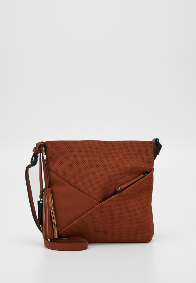 ROMY-SU - Across body bag - cognac