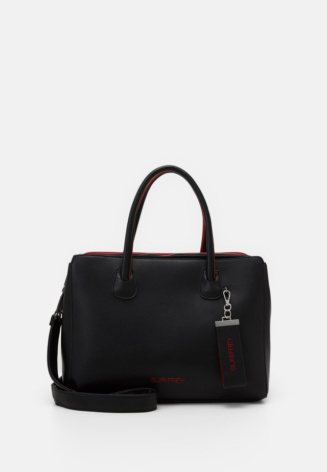 PHILLY - Borsa a mano - black/red