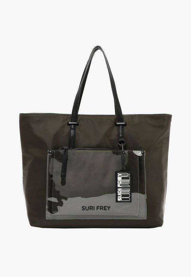 SURI BLACK LABEL TESSY - Bolso shopping - oliv 960