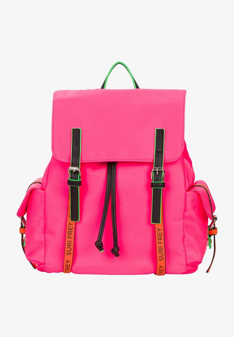 SURI FREY - LABEL FIVE - Sac à dos - pink/orange