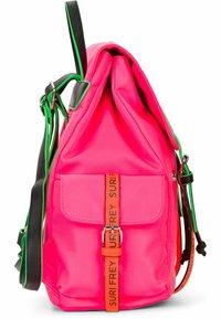 SURI FREY - LABEL FIVE - Sac à dos - pink/orange - 3