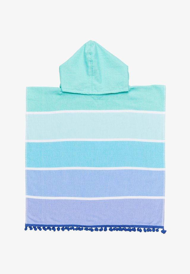KIDS HOODED FOUTA TOWEL - Dressing gown - turquoise