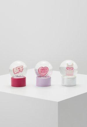 MINI GLOBES 3 PACK - Decorazione - pink
