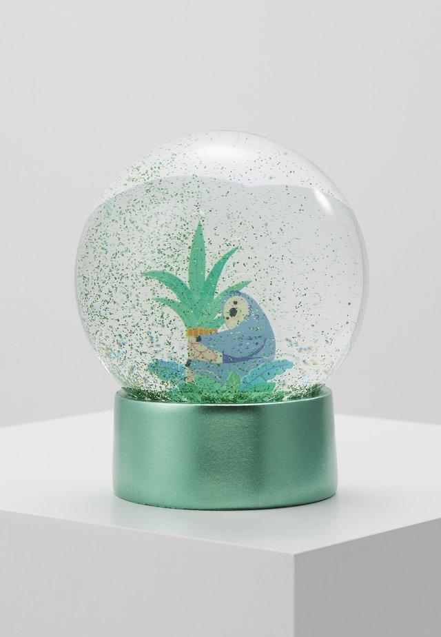 GLITTER GLOBE - Dekoration  - turquoise