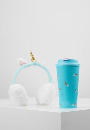 KEEP WARM MUG SET - Ear warmers - turquoise