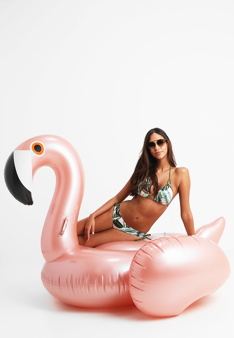 Sunnylife - SUNNYLIFE RIDE ON FLOAT AUFBLASBARER POOL RING - Accessoire de plage - rose gold