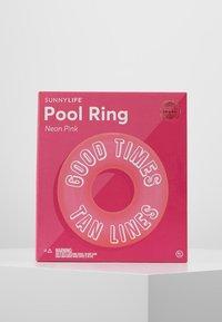 Sunnylife - POOL RING  - Complementos de playa - neon pink - 0