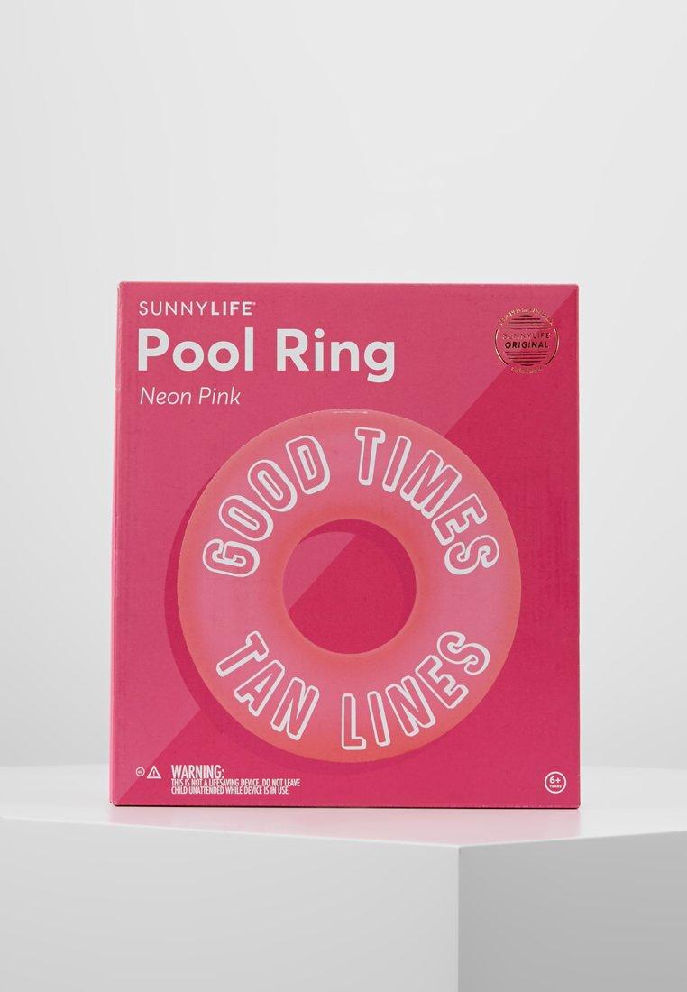 Sunnylife - POOL RING  - Complementos de playa - neon pink