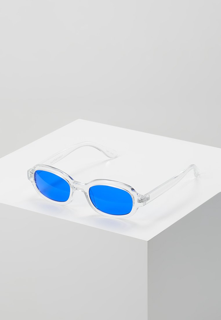 Sunheroes - Sunglasses - clear/dark blue