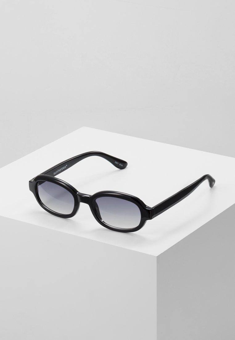 Sunheroes - Gafas de sol - black/smoke