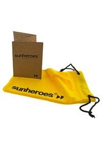 Sunheroes - SUNHEROES SUNGLASSES IL CAPO - Zonnebril - matt silver - 3