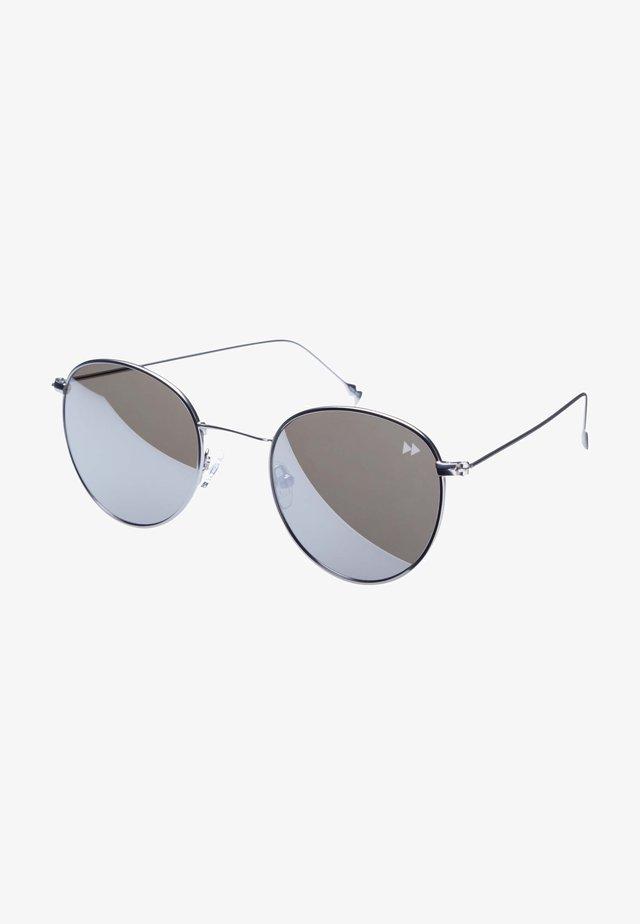 SUNHEROES SUNGLASSES IL CAPO - Okulary przeciwsłoneczne - matt silver