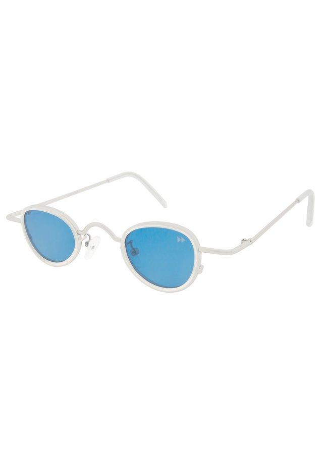 Okulary przeciwsłoneczne - matt silver & matt clear