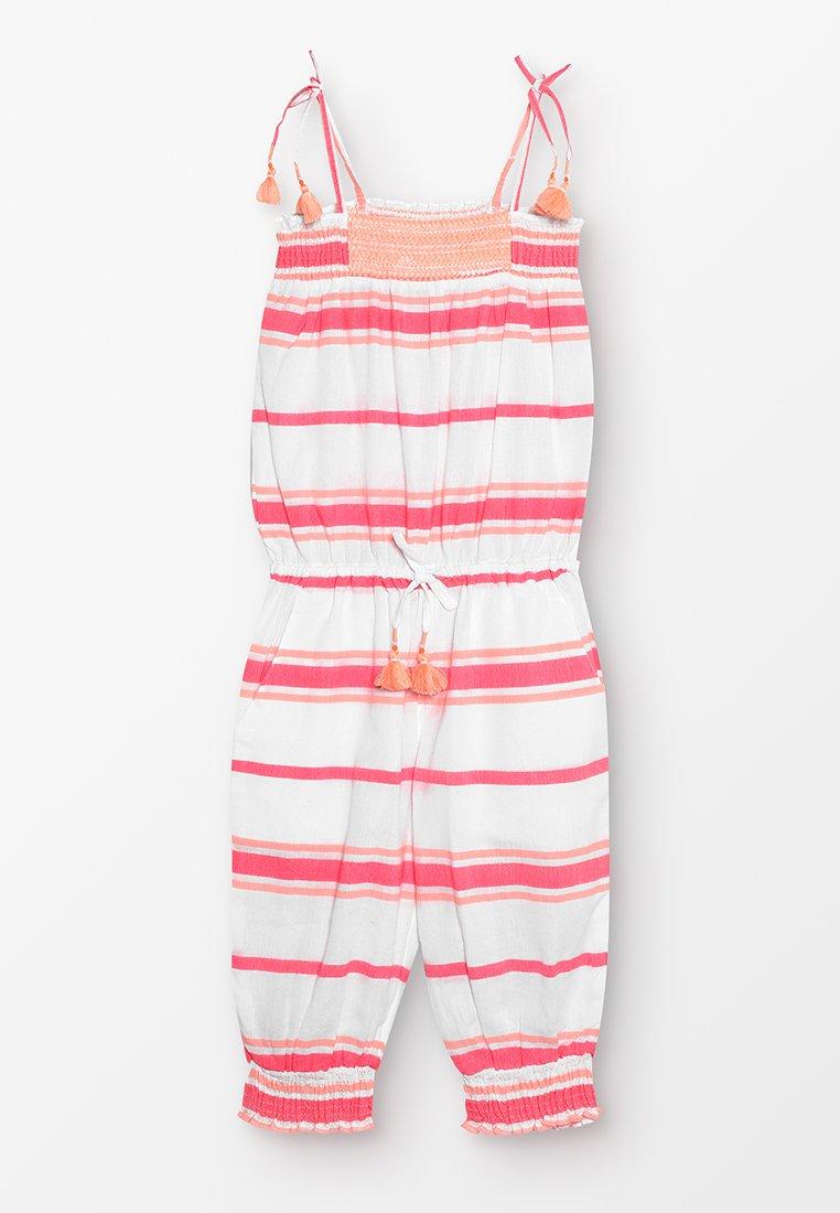 Sunuva - GIRLS SHIRRED JUMPSUIT - Jumpsuit - hot pink