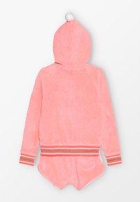 Sunuva - GIRLS TOWELLING SET - veste en sweat zippée - sherbert pink - 1