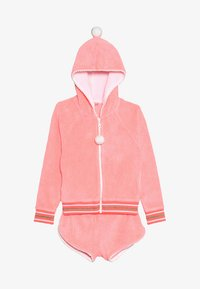 Sunuva - GIRLS TOWELLING SET - veste en sweat zippée - sherbert pink - 6