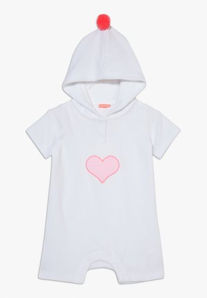 BABY GIRLS TOWELLING ONESIE - Overal - white
