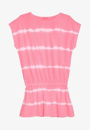 GIRLS TIE DRESS - Jerseykleid - pink