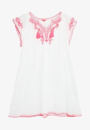 GIRLS CHEESECLOTH DRESS - Freizeitkleid - white