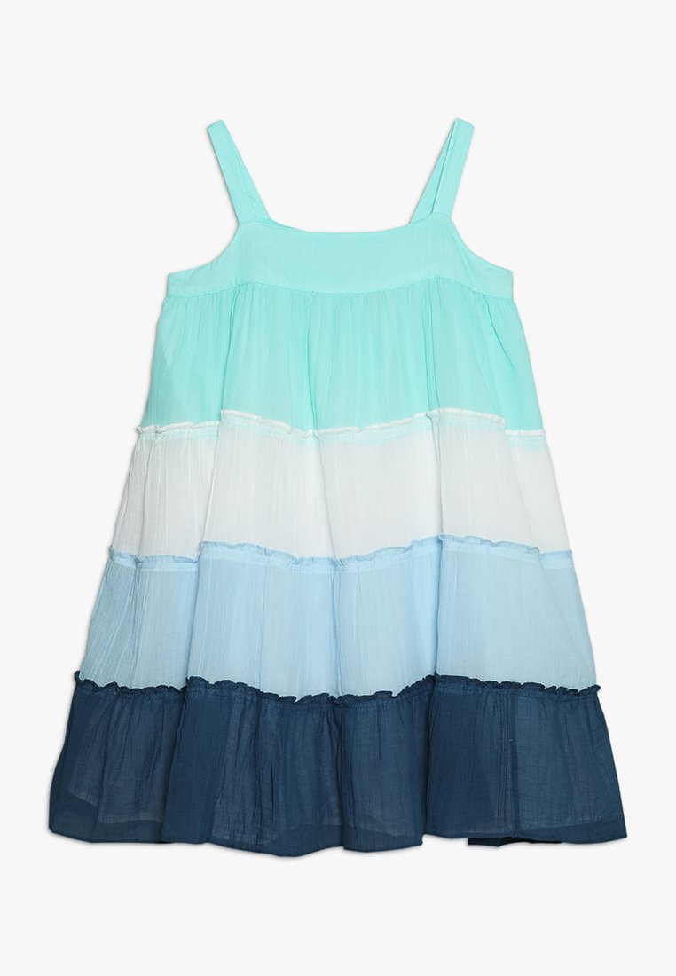 Sunuva - GIRLS TIERED DRESS - Day dress - blue
