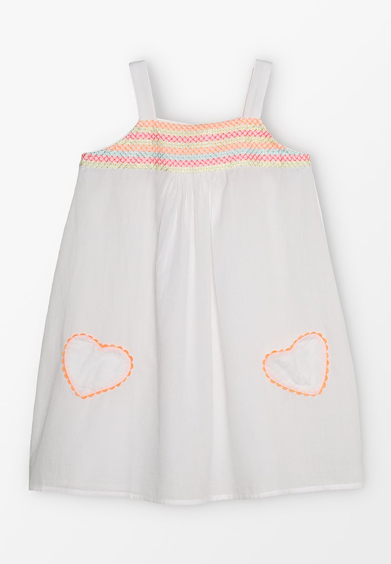 Sunuva - GIRLS SMOCKED TOP DRESS - Robe d'été - white