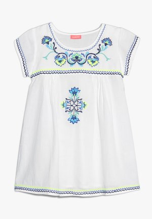 GIRLS PERUVIAN DRESS - Robe d'été - white