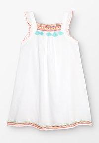 Sunuva - GIRLS FLUTTER DRESS - Day dress - white - 0