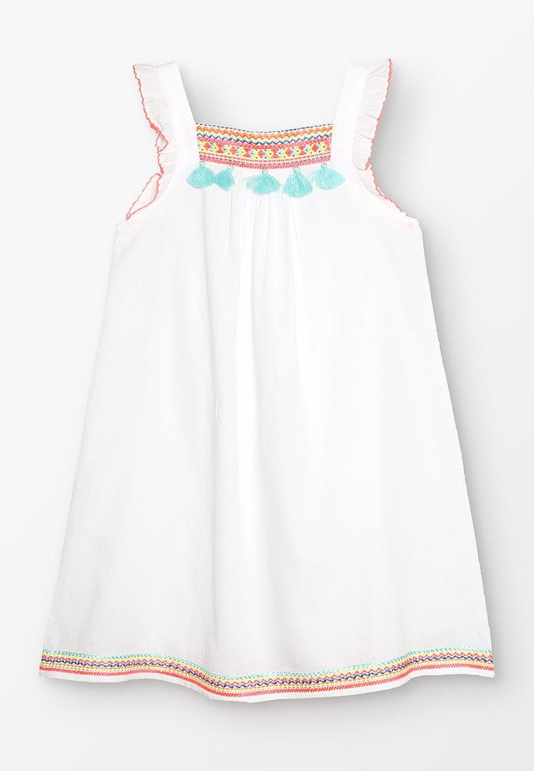 Sunuva - GIRLS FLUTTER DRESS - Sukienka letnia - white