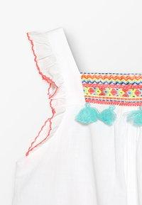 Sunuva - GIRLS FLUTTER DRESS - Day dress - white - 2