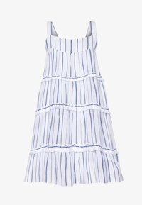 Sunuva - STRIPE FRINGED TIER DRESS - Sukienka letnia - blue - 0