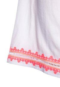 Sunuva - GIRLS EMBROIDERED FLUTTER SLEEVE DRESS - Sukienka letnia - white - 2