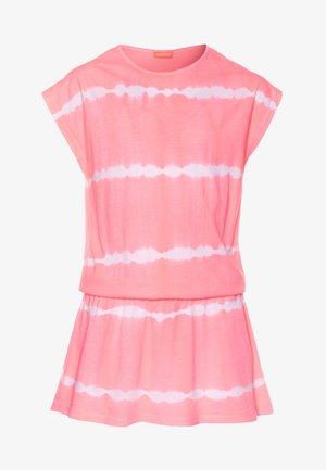 GIRLS TIE DYE DRESS - Doplňky na pláž - pink