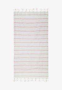 Sunuva - GIRLS PINK HORIZONTAL STRIPE BEACH TOWEL - Plážová osuška - pink - 1