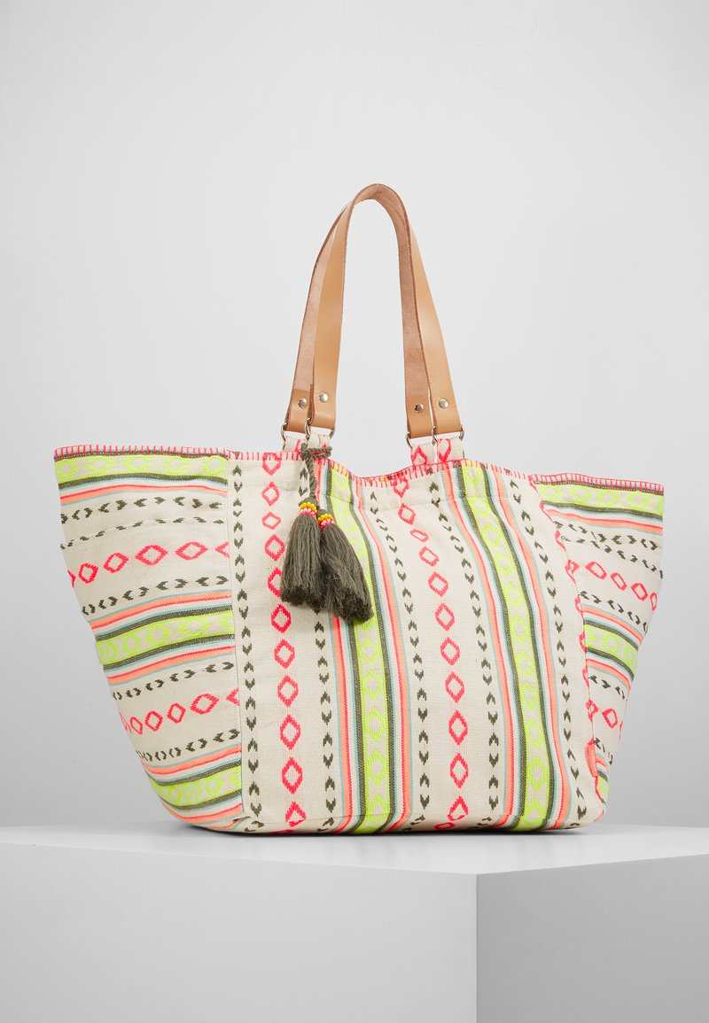 Sunuva - GIRLS TRIBAL STRIPE BEACH BAG - Tote bag - multi