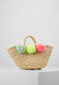 Sunuva - GIRLS POM POM BEACH BASKET - Handbag - multi - 3
