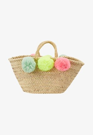 GIRLS POM POM BEACH BASKET - Sac à main - multi